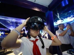 科技会议搭建,VR测试图