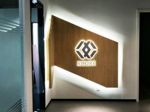 公司LOGO墙:logo标识