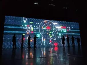OPPO TOP高校创新科技大赛AI赛季现场