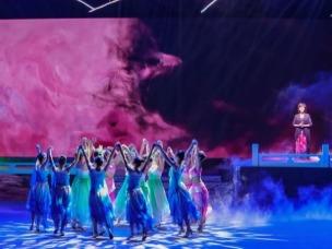 第31届遂州荷花展览:主题晚会女子艺术舞蹈