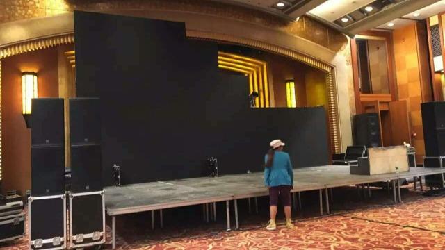 成都舞台搭建前需要做哪些准备,不看的话就搭建不出一个完美的舞台