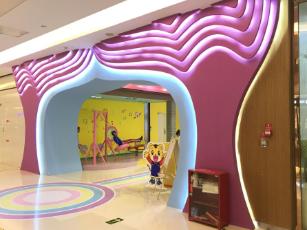"""丽雅百货""""音乐城堡""""儿童街区打造"""