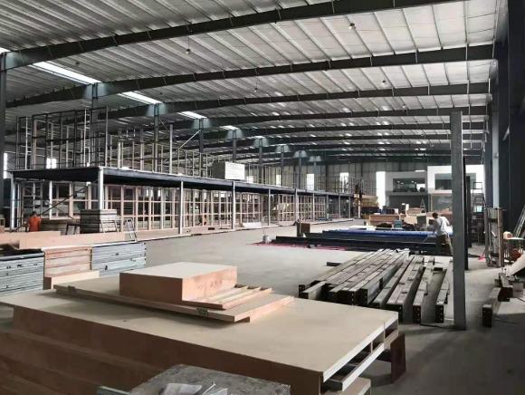 展台制作工厂内部环境图片