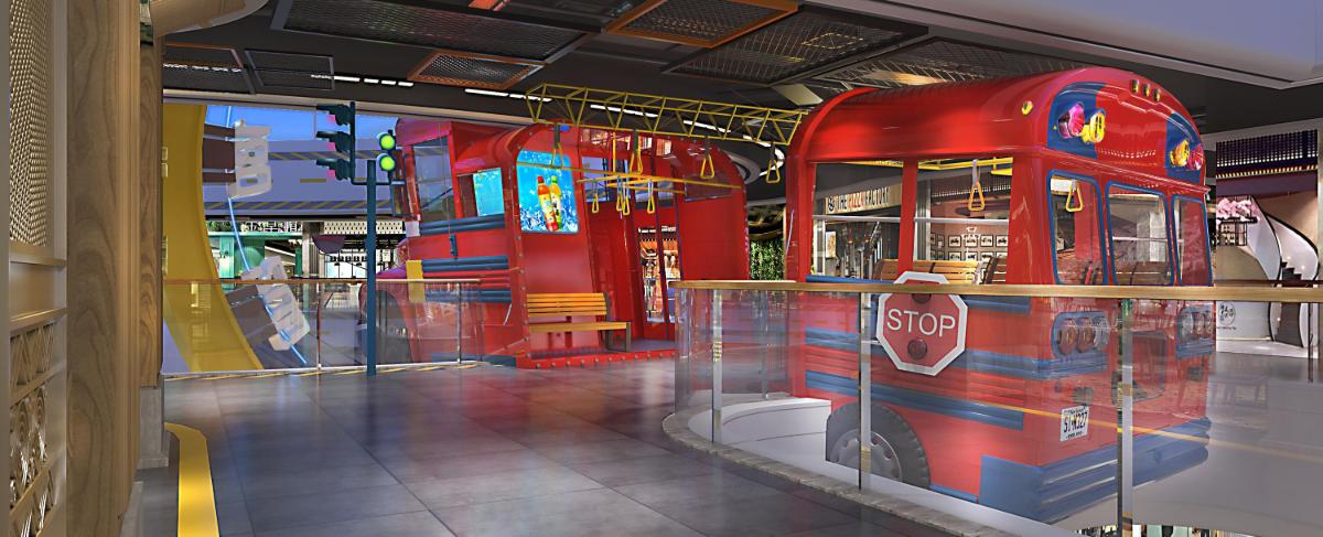 商场美食街主题设计
