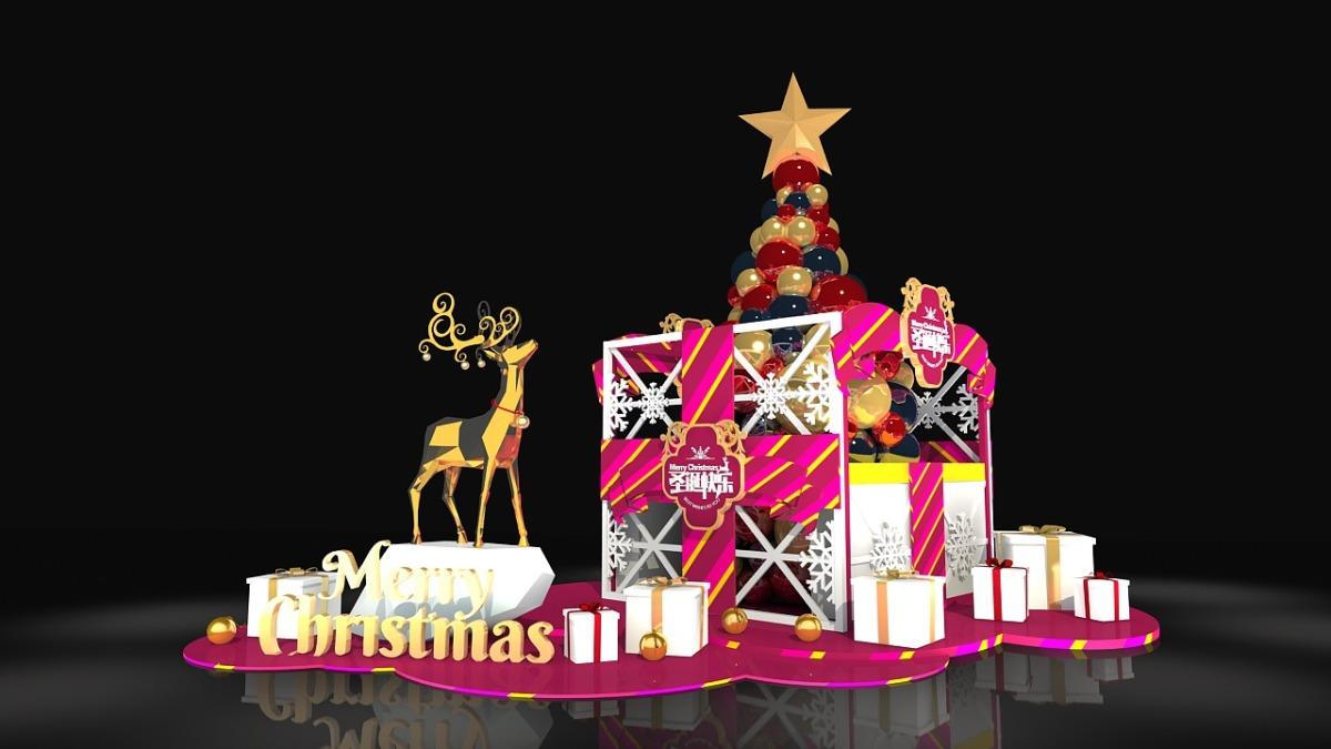 商场圣诞节美陈