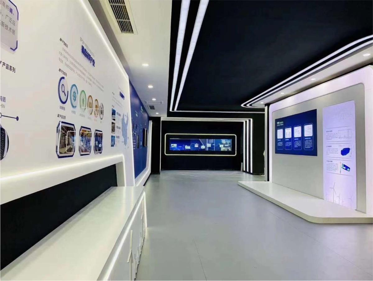 企业现代化展厅