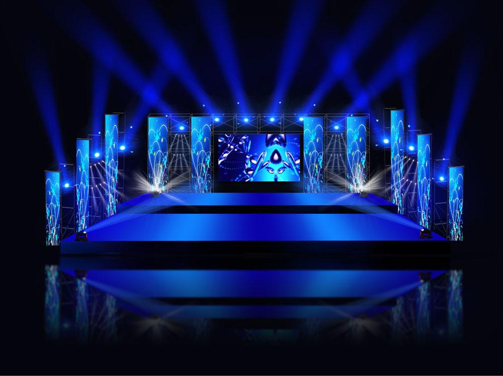 舞台搭建效果图