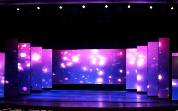 舞台搭建led显示屏