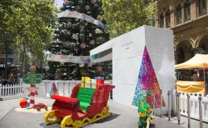 商场美陈-圣诞树