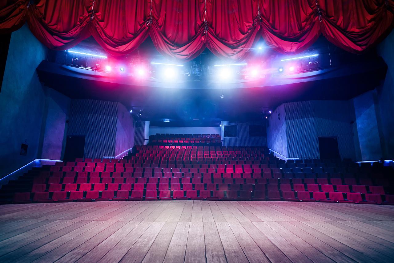 舞台搭建背视觉